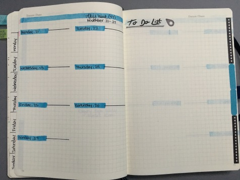 Weekly Log